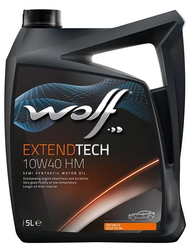 Wolf EXTENDTECH 10W-40 HM  5 л
