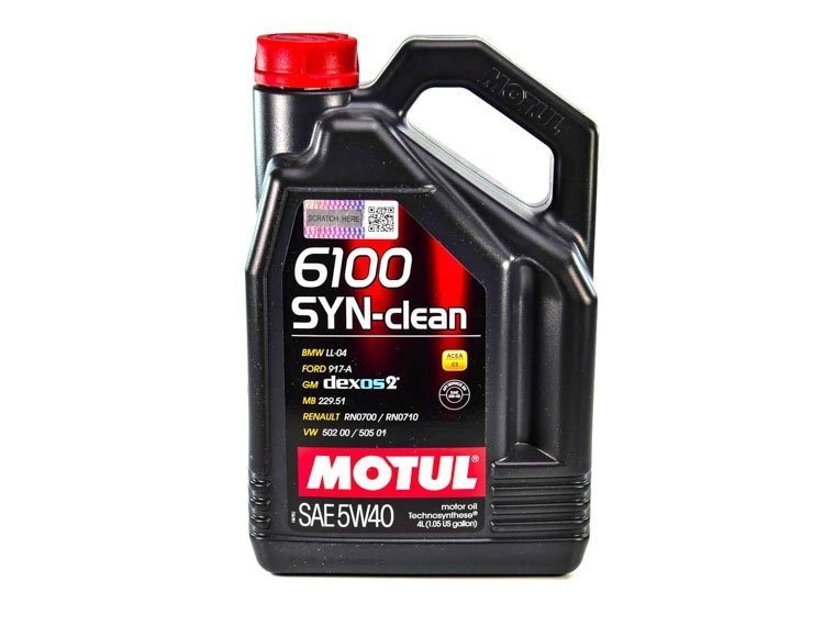 MOTUL 6100 Syn-clean SAE 5W-40