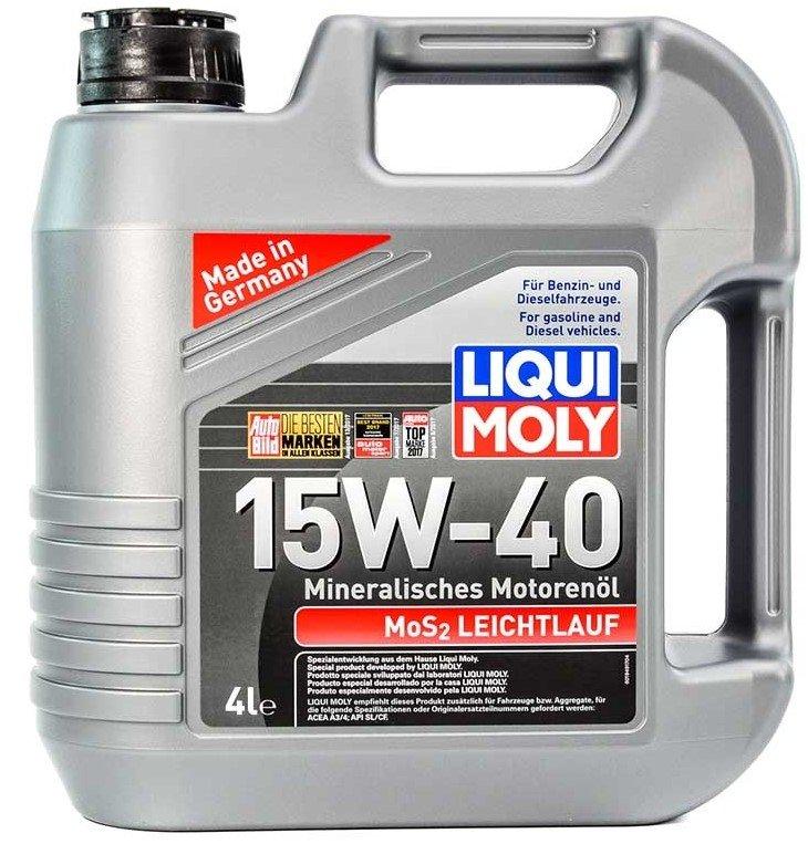 Liqui Moly Mos2-Leichtlauf 15w-40