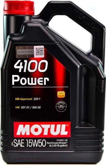 Motul 4100 Power 15w-50