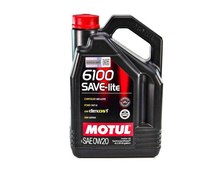 MOTUL 6100 Save-lite SAE 0w-20 4 л