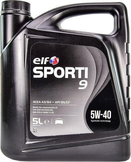 Elf Sporti 9 5w-40 5 л