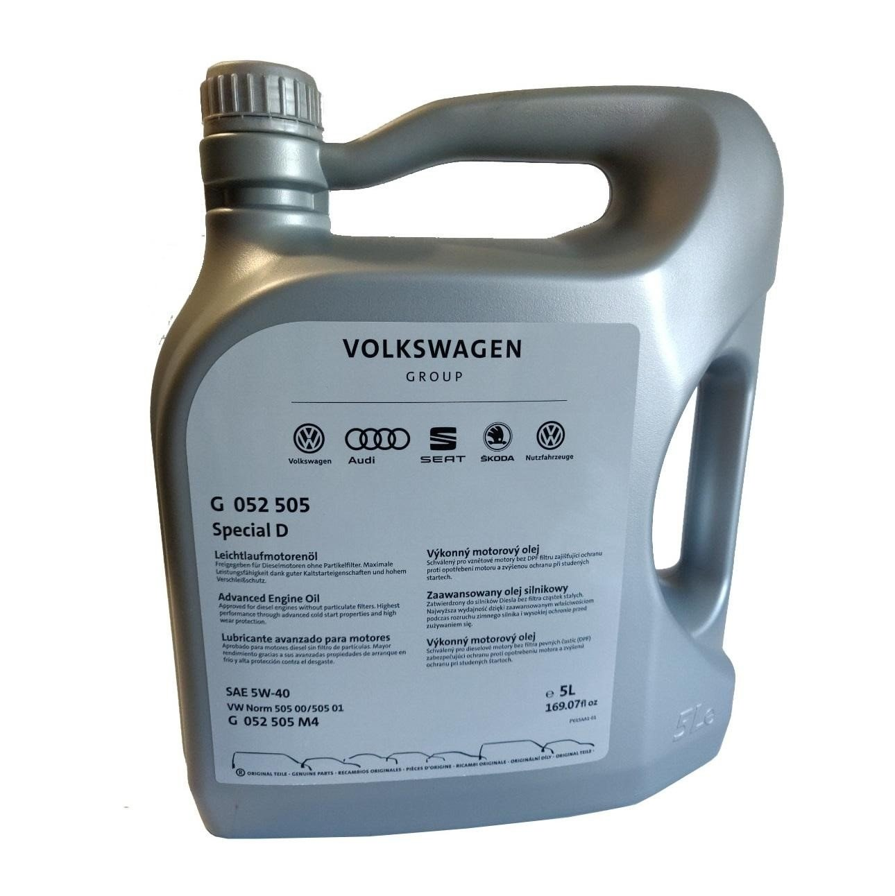 VW AUDI Special D (vw 505.01) 5W-40  5л