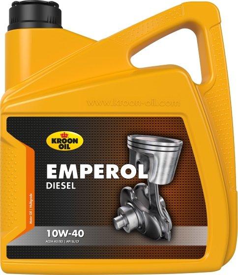 KROON OIL  EMPEROL DIESEL 10W-40 5 л