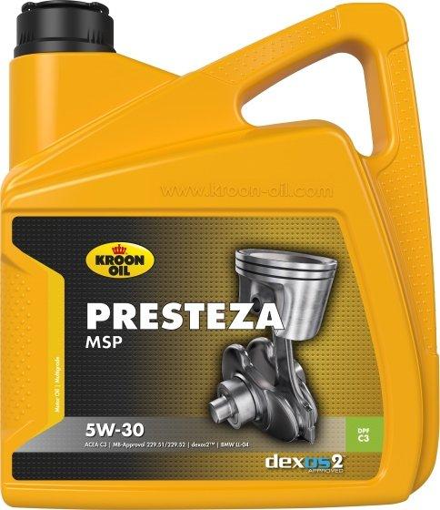 KROON OIL  PRESTEZA MSP 5W-30 4