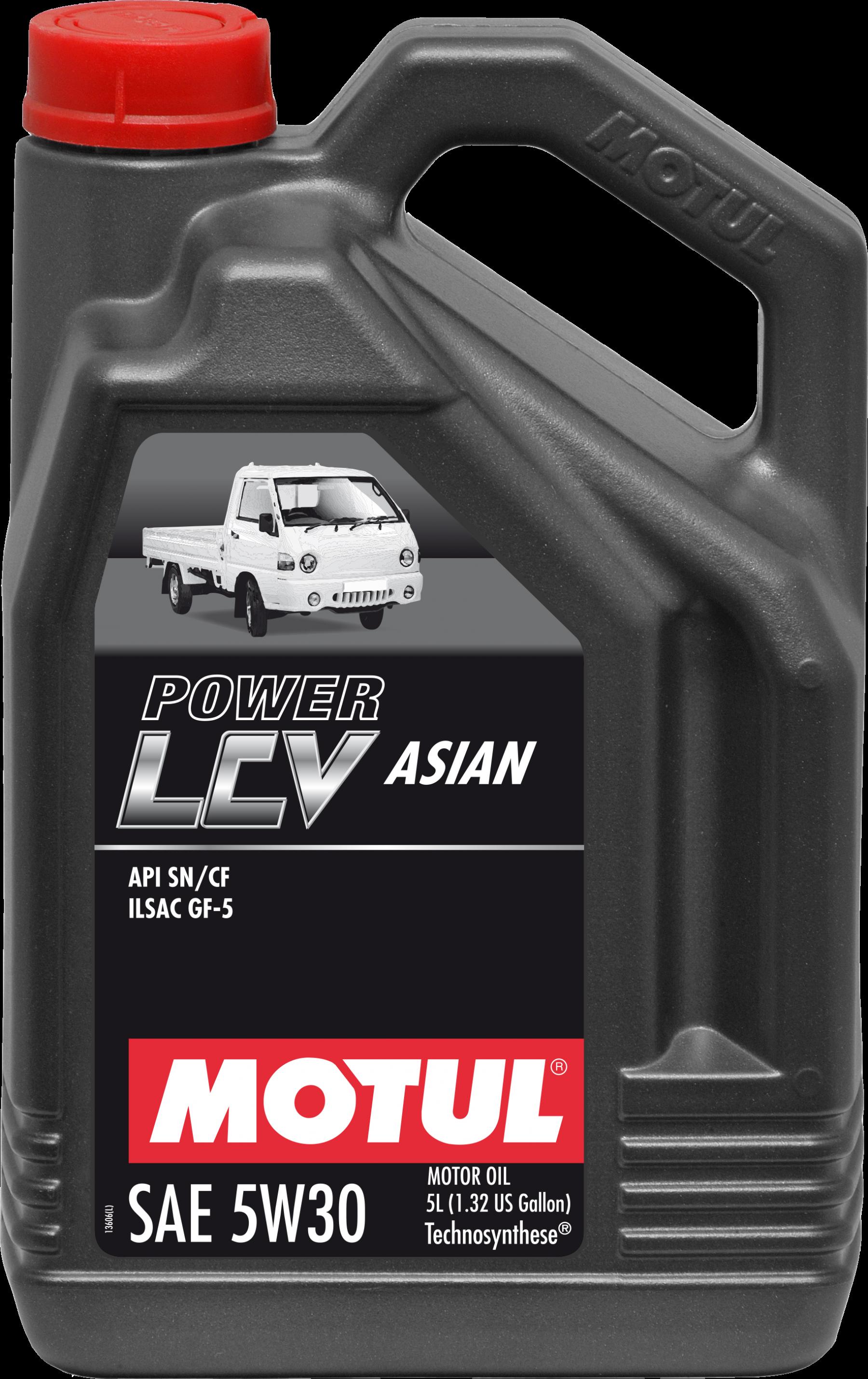 Motul Power LCV Asian 5w-30
