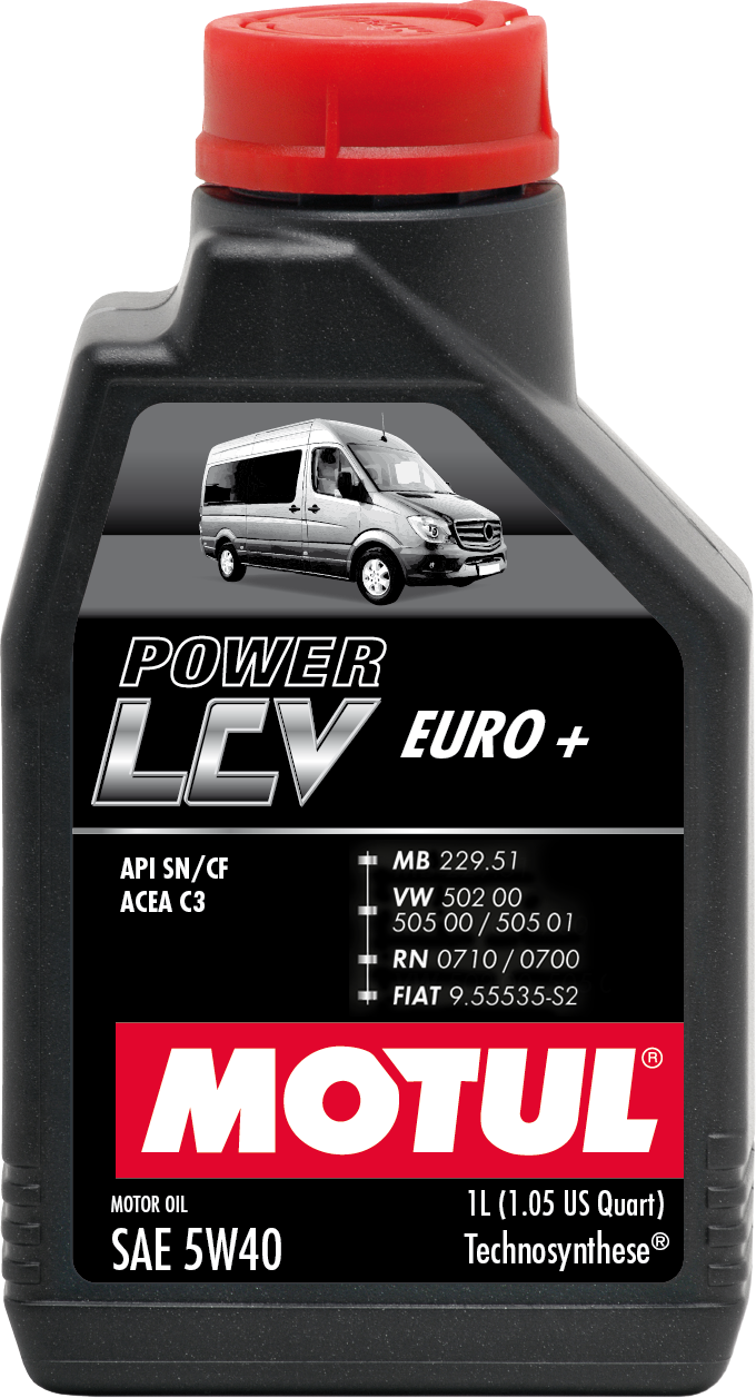 Motul Power LCV Euro+ 5w-40