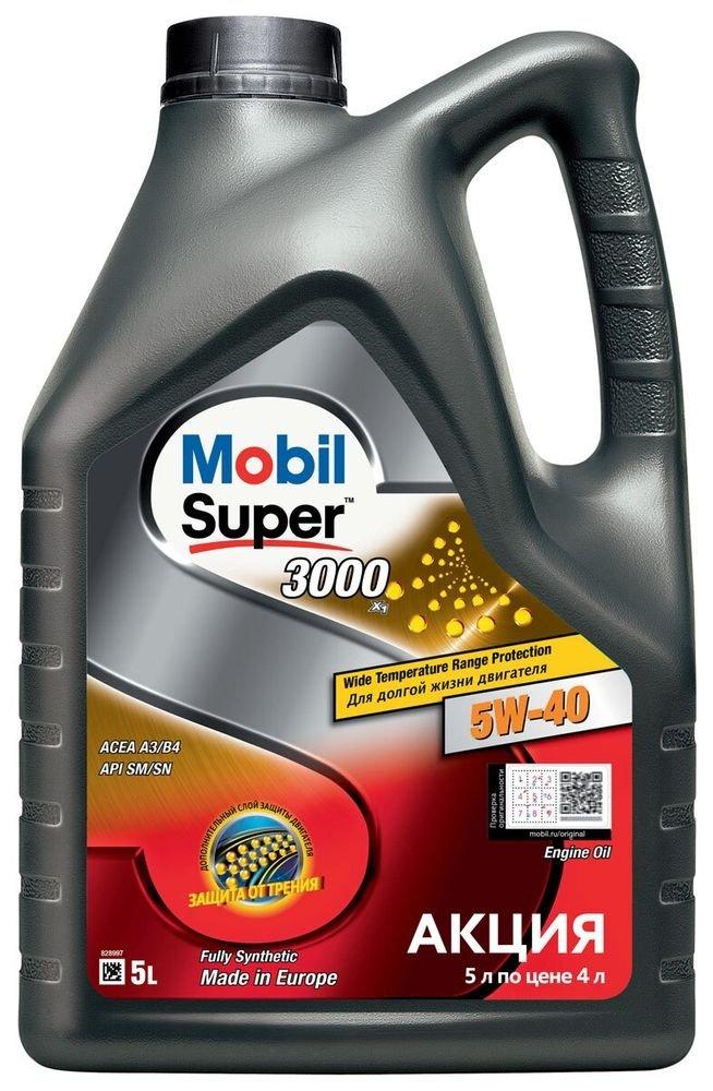 Mobil Super 3000 5w-40 5 л