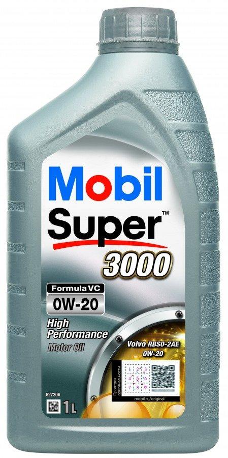 Mobil Super 3000 Formula VC 0W-20-1 л 1 л