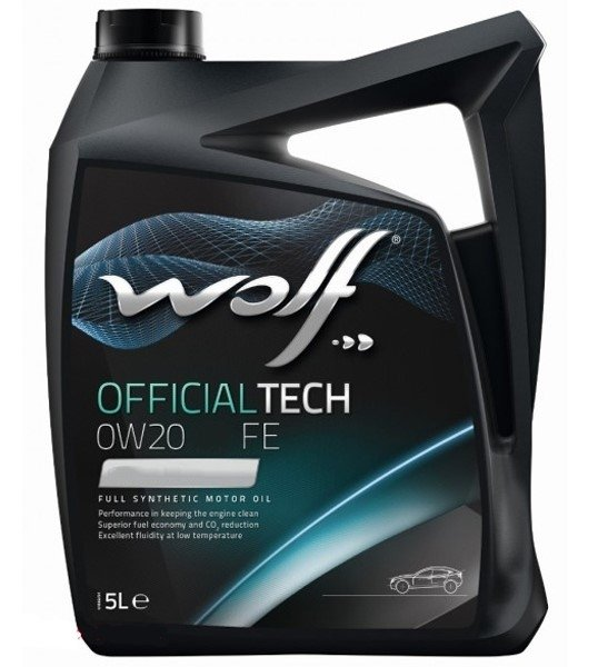Wolf OFFICIALTECH 0W-20 LS-FE 4 л