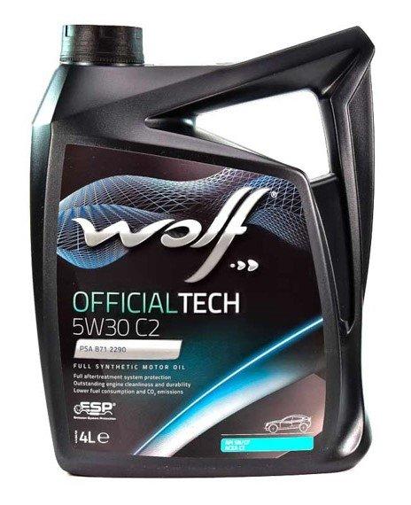 Wolf OFFICIALTECH 5W-30 C2 4 л