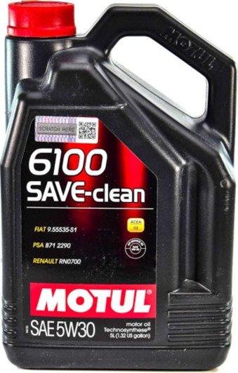 Motul 6100 Save-clean 5W-30 5 л