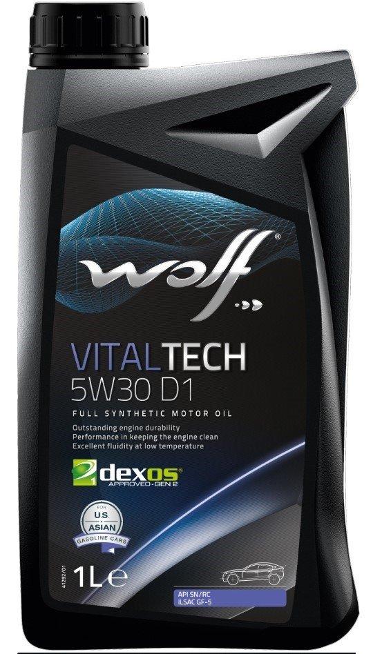 Wolf VITALTECH 5W-30 D1 1 л