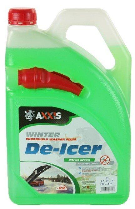 Омыватель зимний AXXIS -22 Citrus green