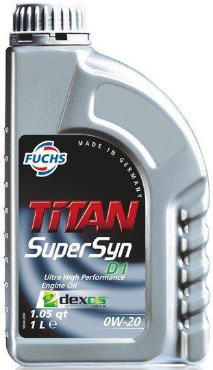 Fuchs Titan SUPERSYN D1 0w-20
