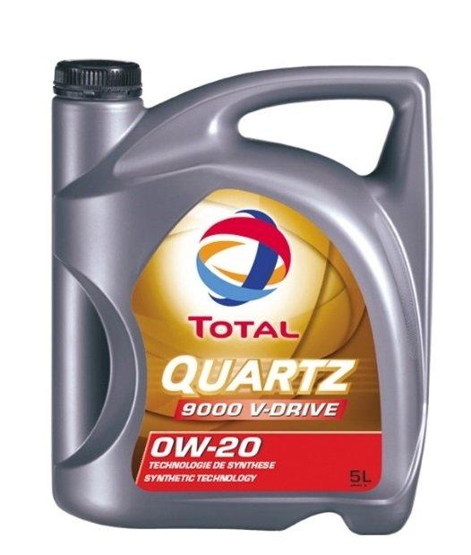 Total Quartz 9000 V-DRIVE 0w-20 5л