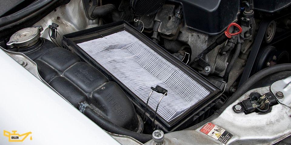 воздушный фильтр двигателя в автомобиле
